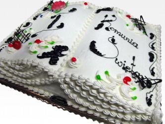 Tort książka komunijna
