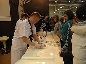 Pierwsza edycja targów cukierniczo-lodziarskich SWEET EXPO 2009 z udziałem naszych uczniów