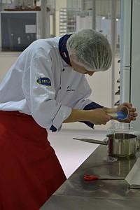 Mariusz podczas pracy